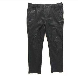 NYDJ Jeans Lift Tuck Technology Skinny  Black 20W